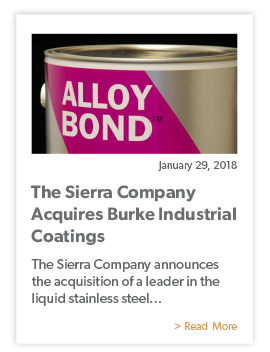 The Sierra Company Acquires Burke Industrial Coatings