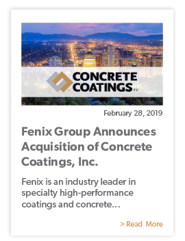 Fenix Group News CCI Acquisition